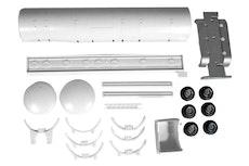 Bensintank trailer bygg kit 1/50