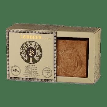 Aleppotvål Traditionell EXTRA VIRGIN med 15% lagerbladsolja