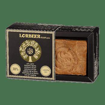 Aleppotvål Traditionell 30% lagerbladsolja