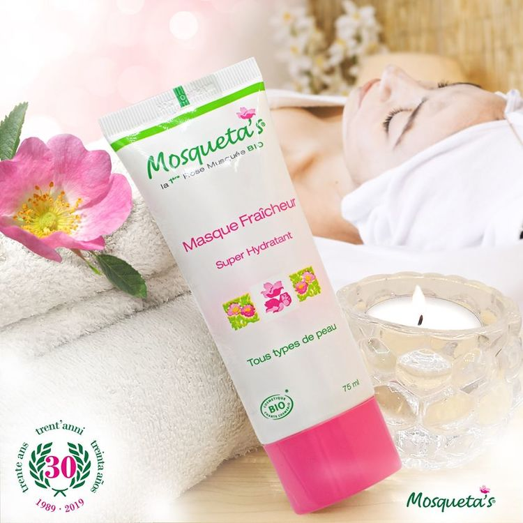 Ansiktsmask Rosa Mosqueta