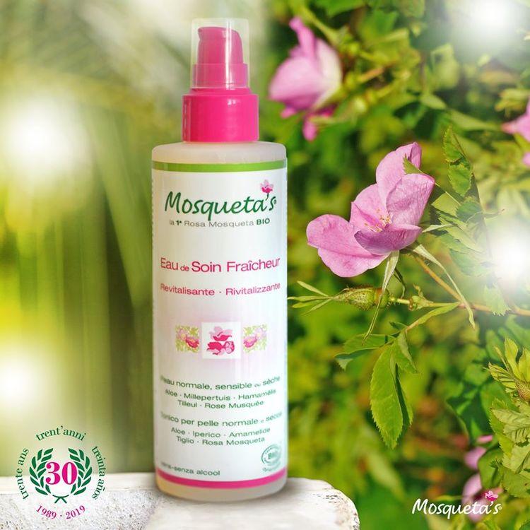 Ansiktsvatten Revitalising med Rosa Mosqueta, Aloe, Trollhassel, Limetree...