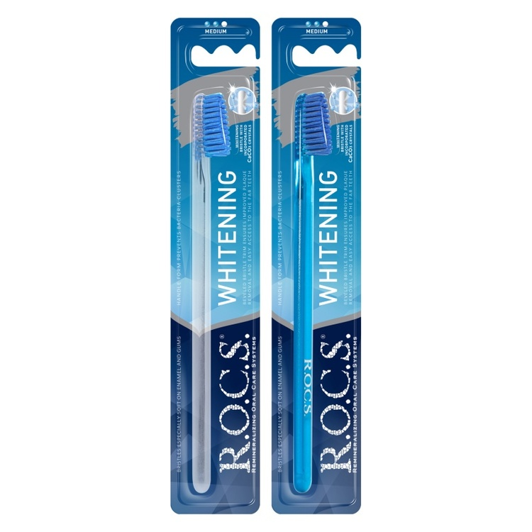 R.O.C.S.® Blekande tandborste, Medium