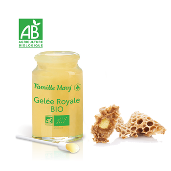 Rent Färskt Ekologisk Bidrottninggelé/ Pure Royal Jelly/ Gelée Royale