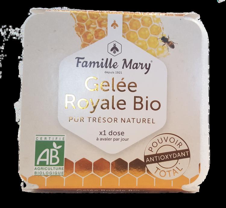 Rent Färskt Ekologisk Bidrottninggelé/ Pure Royal Jelly/ Gelée Royale 10 g