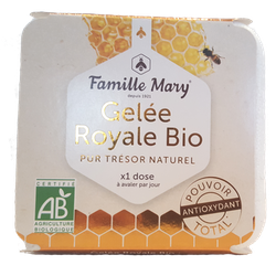 Rent Färskt Ekologisk Bidrottninggelé/ Pure Royal Jelly/ Gelée Royale 500 g
