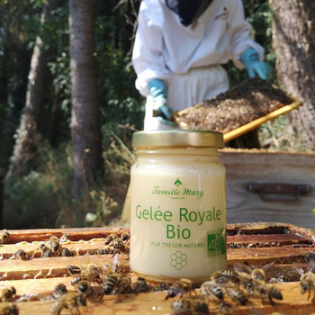 Rent Färskt Ekologisk Bidrottninggelé/ Pure Royal Jelly/ Gelée Royale 100 g