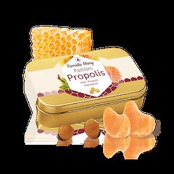 Pastiller med honung och propolis