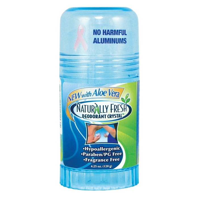 Naturlig Fräsch Deodorant Kristall Blå Twist-up Stick
