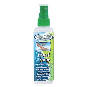 Naturlig Fräsch Deodorant Kristall Fotspray