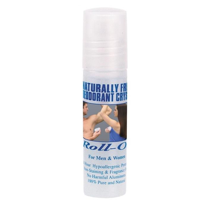 Naturlig Fräsch Deodorant Kristall Mini-Roll On