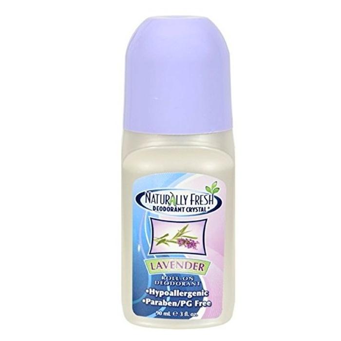Naturlig Fräsch Deodorant Kristall Lavendel Roll On