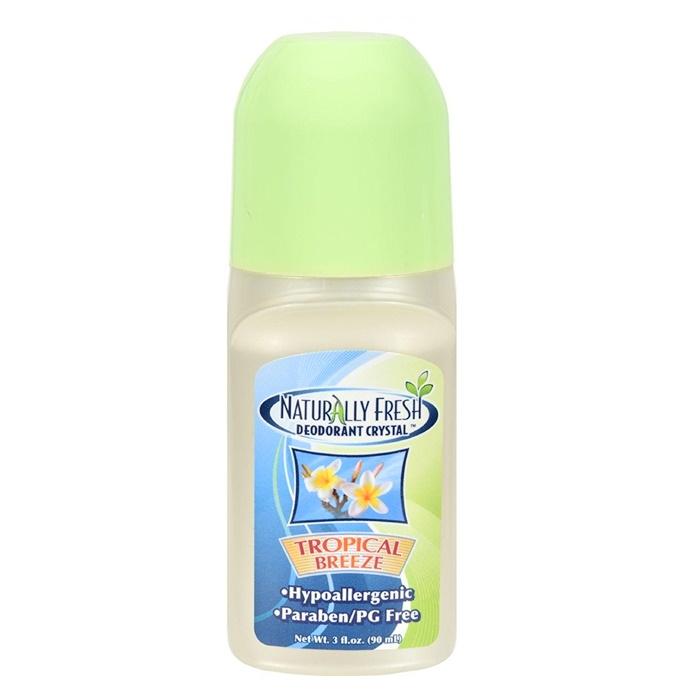 Naturlig Fräsch Deodorant Kristall Tropisk Bris Roll On