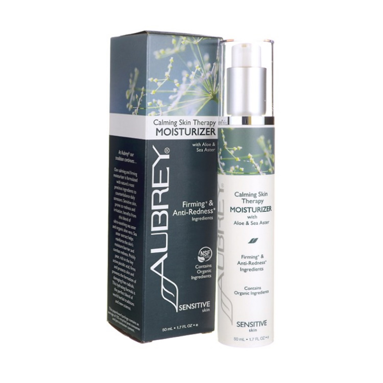 Calming Skin Therapy Moisturizer with Aloe & Sea Aster