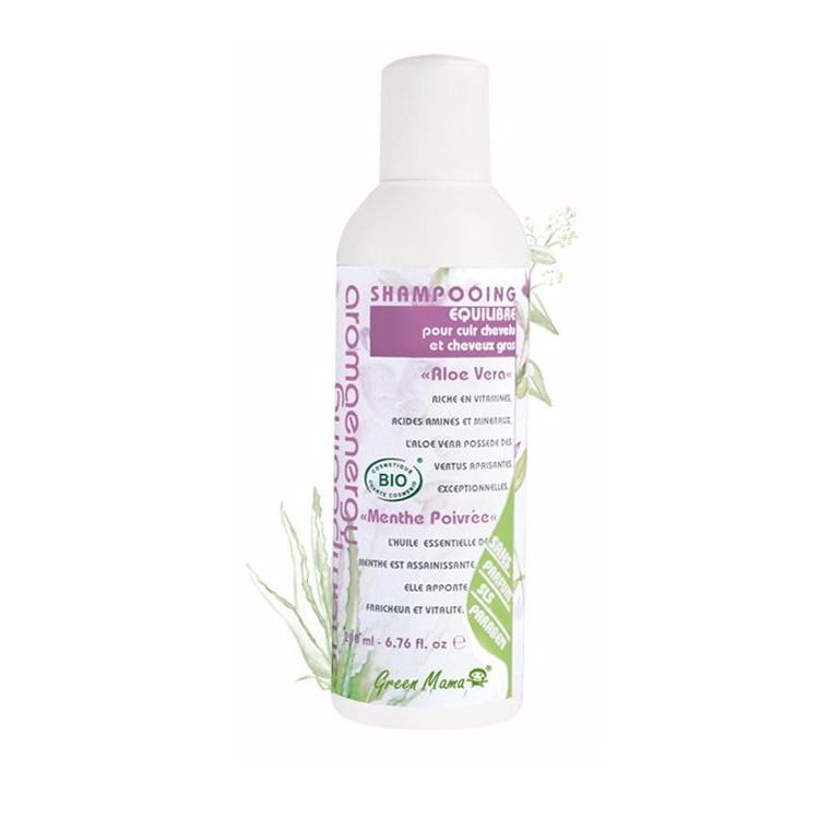 Balansgivande schampo för fett hår & hårbotten