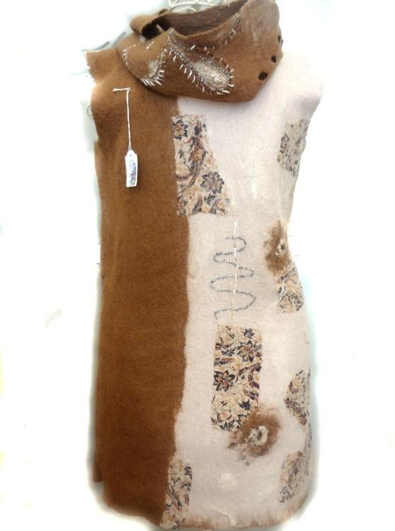 Tovad Tunika - klänning Cappuccino