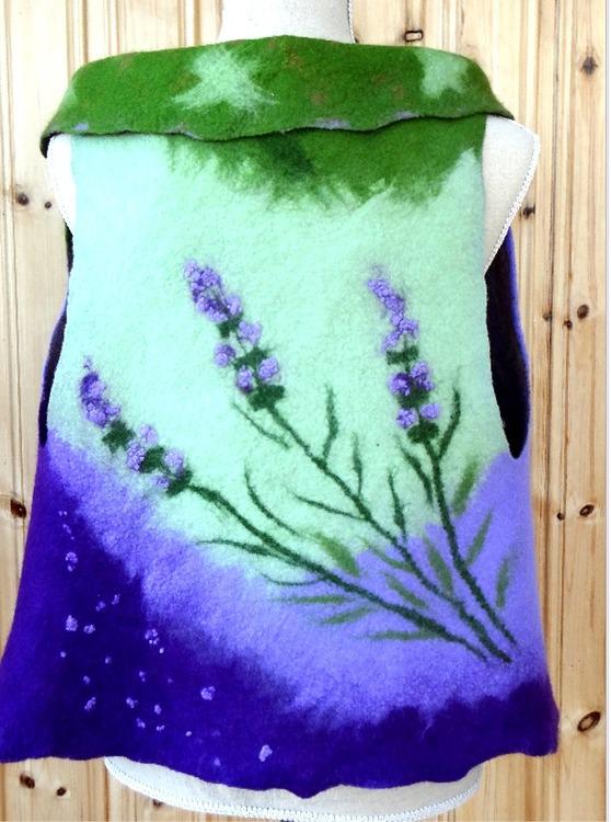 Tovad Väst - jacka Lavendel