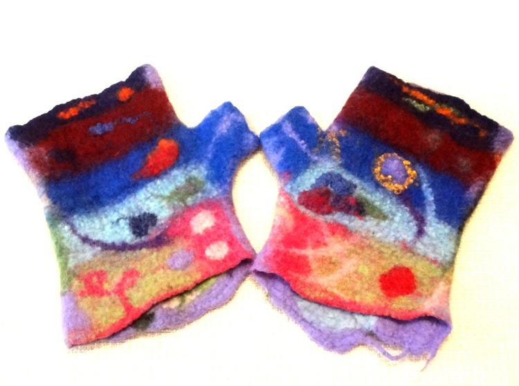 Torgvantar Multicolor i multimönster