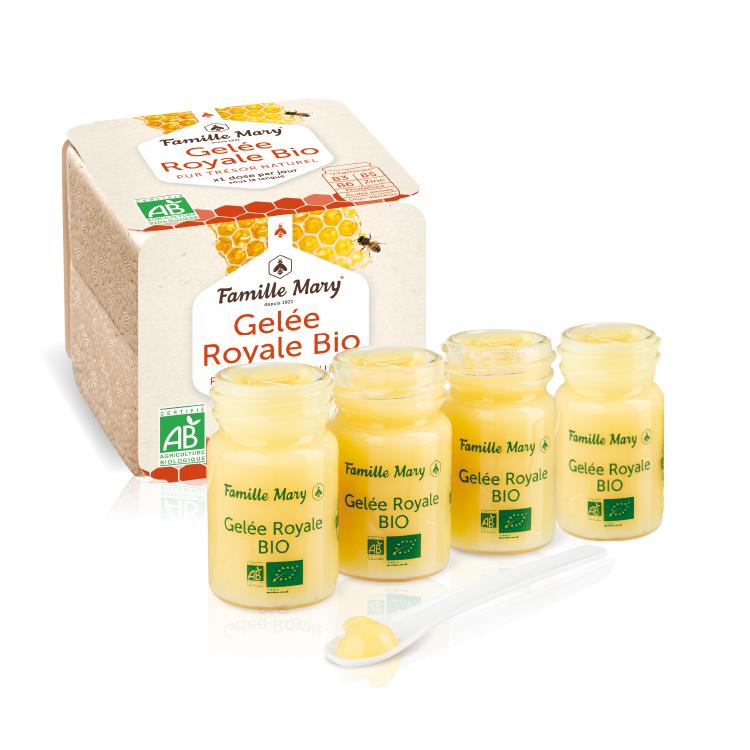 Rent Färskt Ekologisk Bidrottninggelé/ Pure Royal Jelly/ Gelée Royale 20 g