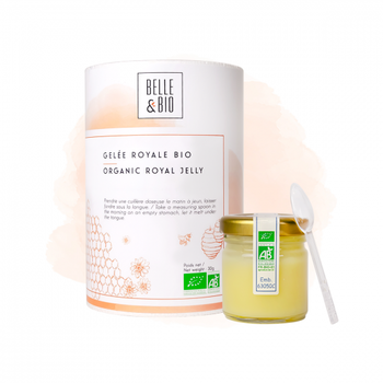 Rent Färskt Royal Jelly Bidrottningsgelé/Bidrottninggelé Ekologisk 30 g
