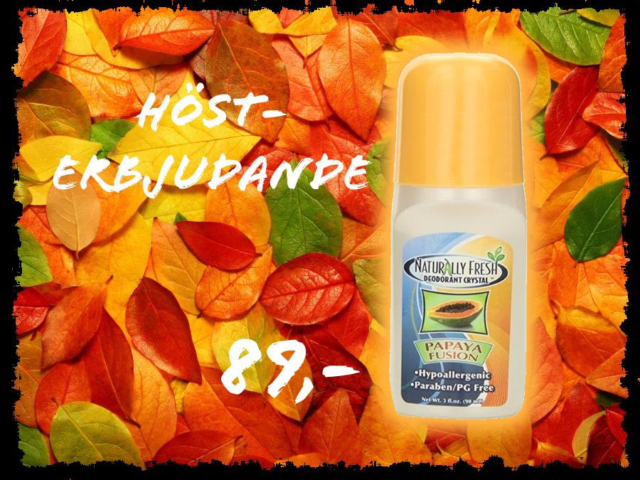 Naturlig Fräsch Deodorant Kristall Papaya Roll Oncta image
