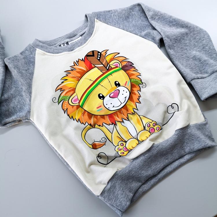 Løve 3-4 år - Genser