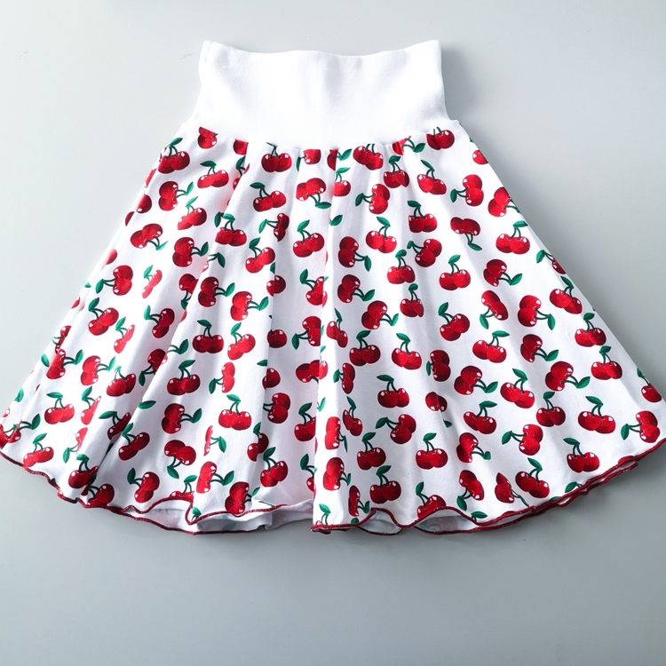 Kirsebær Skjørt