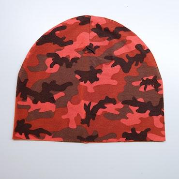 Camo rød - lue