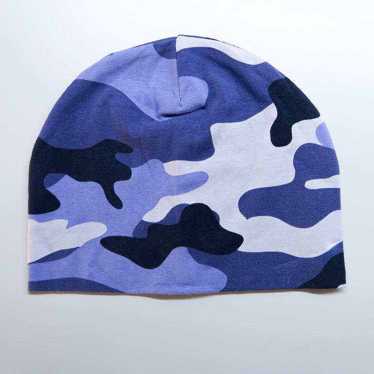 Camo blå - Voksen ONESIZE