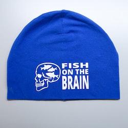 Fish brain kongeblå Lue - Voksen Herre
