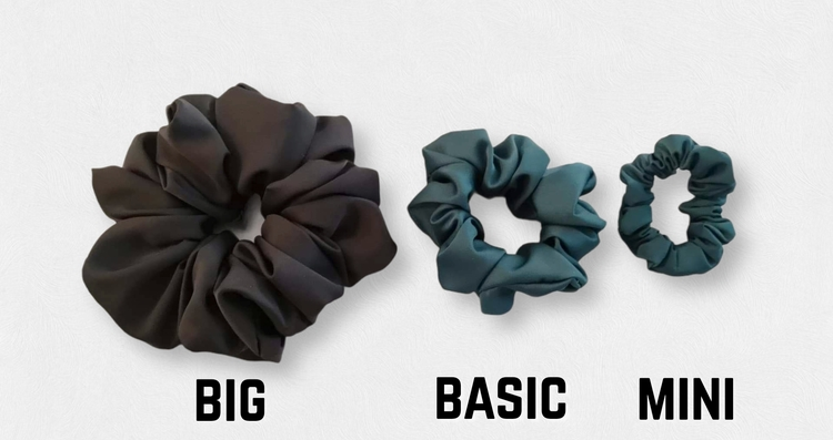 Iris - Big scrunchie