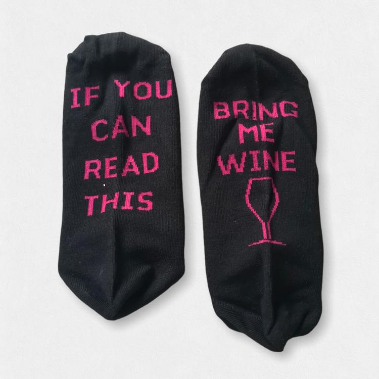 Bring me wine - sokker