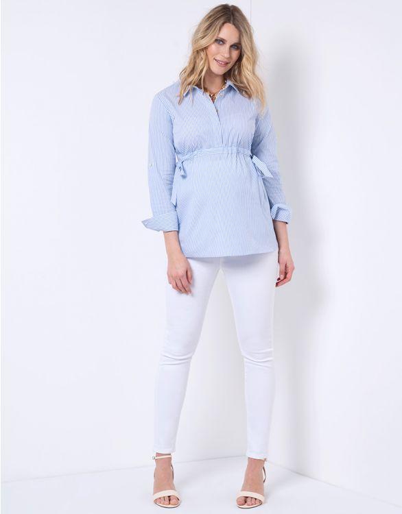 Zahara - Skinny fit vita jeans