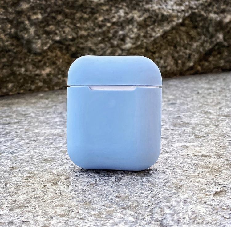 Airpodsfodral   Ljusblå
