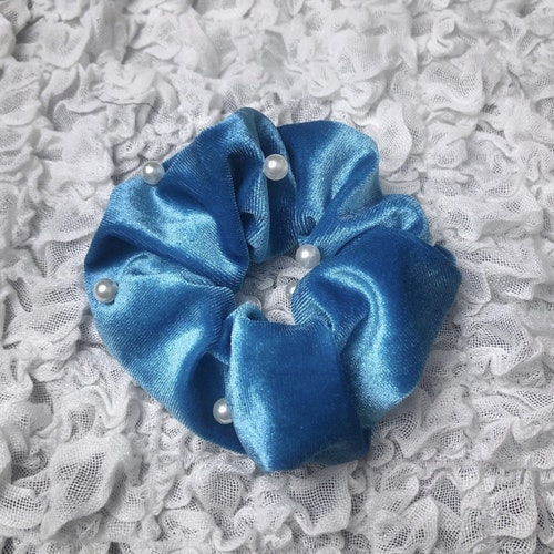 Scrunchie | Blå