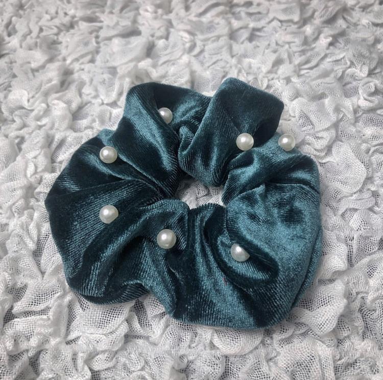 Scrunchie | Smaragdgrön