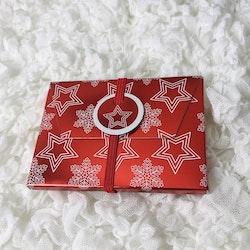 Presentask med elastiskt snöre | Julmotiv