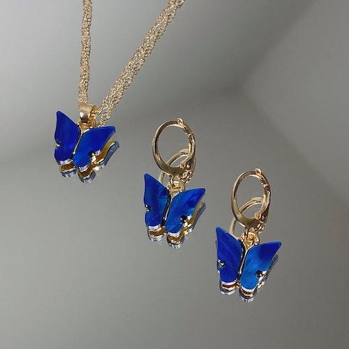 Fjärilskit | Blå