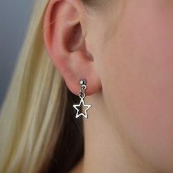 Örhängen | Stjärnor Silver