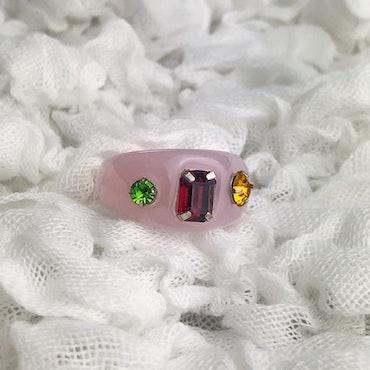 Ring   Ljusrosa