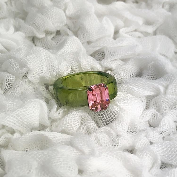 Ring   Grön/Rosa