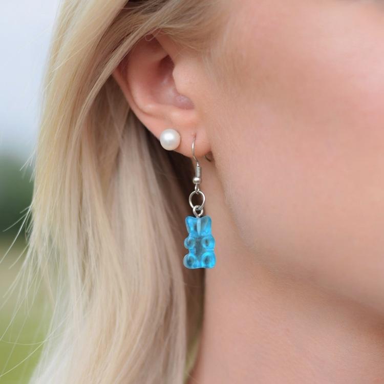 Örhängen | Gummibjörn Blå