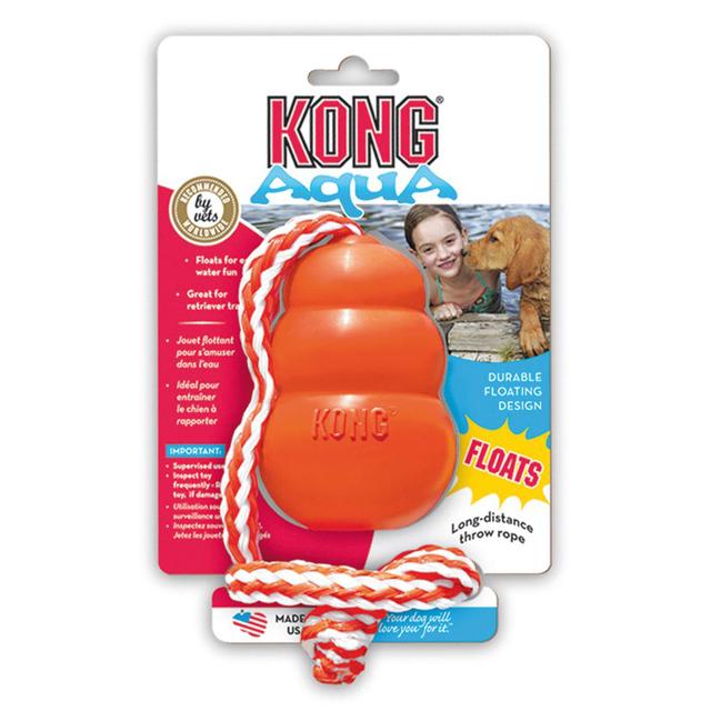 Kong aqua, m. rep, 8,5cm, orange