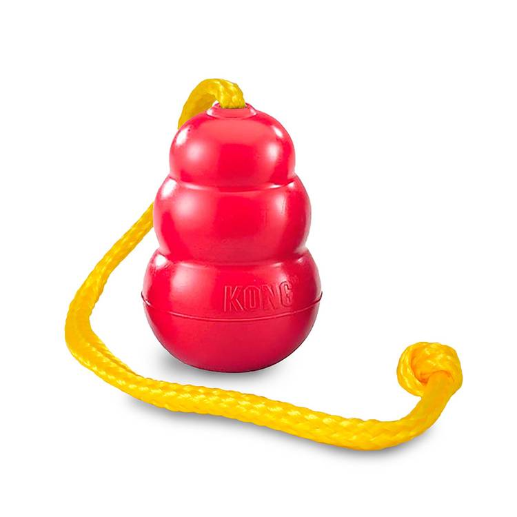 Kong classic m. rep, 5.8cm, röd, Medium