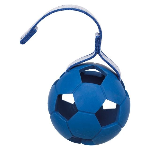 Trixie, sportingboll m. band, 7cm