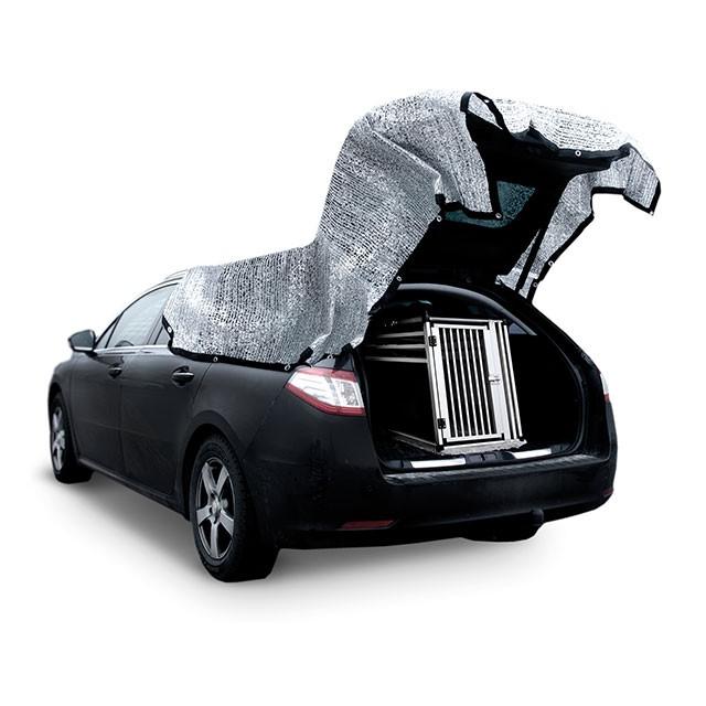 Silverduk för bil