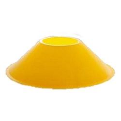 Markeringskon, gul 5cm