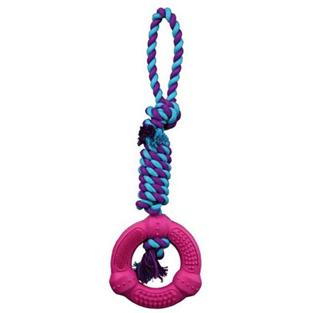 Trixie, DentaFun, ring på rep, 12/41cm