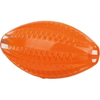 Trixie, DentaFun, rugby, 10cm, orange