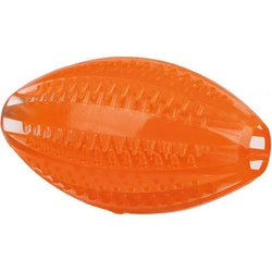 Trixie, DentaFun, rugby, orange, 10cm