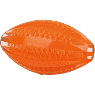 Trixie, DentaFun, rugby, orange, 10cm